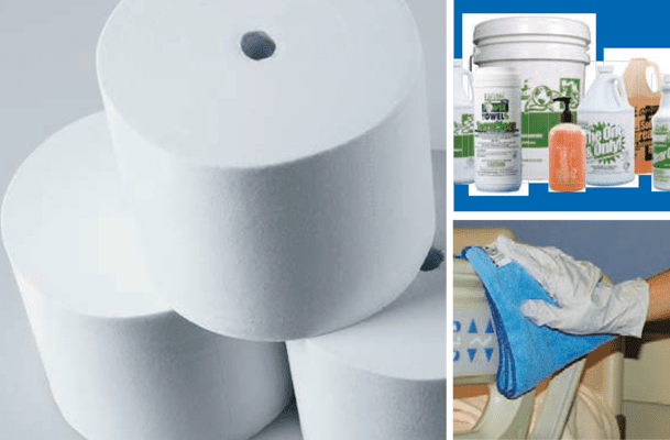 Toilet tissue, cleaners